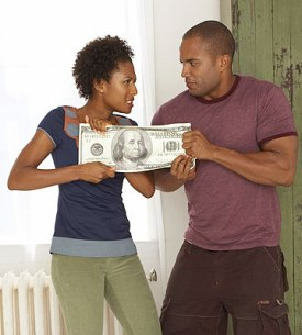 black-couple-fighting-over-money1
