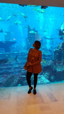 Aquarium at Atlantis, The Palm.