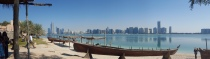 Abu Dhabi Skyline from Coniche Beach